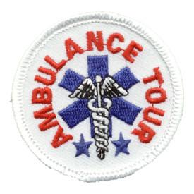S-0596 Ambulance Tour Patch