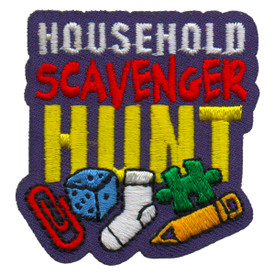 S-6219 Household Scavenger Hunt Patch