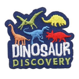 S-6222 Dinosaur Discovery Patch