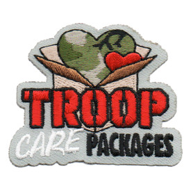 S-6224 Troop Care Packages Patch
