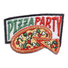 S-0600 Pizza Party Patch