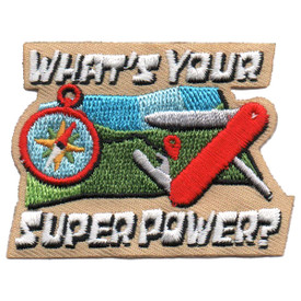 S-5658 What's Your Super Power? Patch
