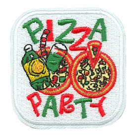 S-0604 Pizza Party Patch