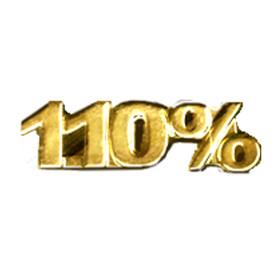 P-0116 110% - Text Pin
