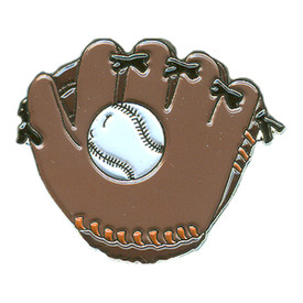 P-0121 Baseball & Glove Pin