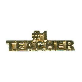P-0124 #1 Teacher Pin