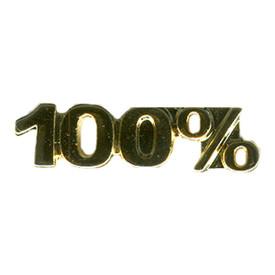 P-0125 100% - Text Pin