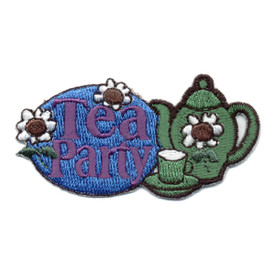 S-0605 Tea Party Patch