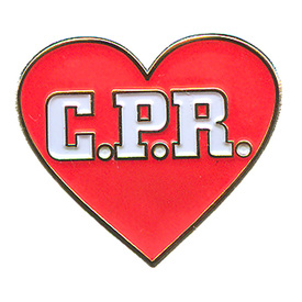 P-0128 C.P.R. (Heart) Pin