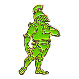 P-0129 Green Knight (Standing) Pin