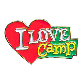 P-0132 I Love Camp Pin