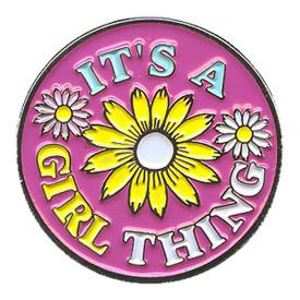 P-0139 It's A Girl Thing Pin
