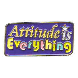 P-0142 Attitude Is Everything Pin