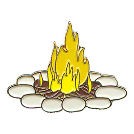 P-0151 Camp Fire Pin