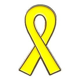 P-0154 Yellow Ribbon Pin
