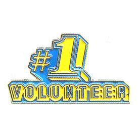 P-0157 #1 Volunteer Pin