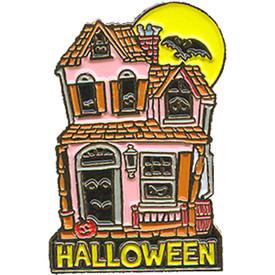 P-0163 Halloween (House) Pin