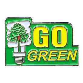 P-0164 Go Green Pin
