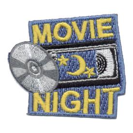 S-0610 Movie Night Patch