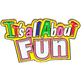 P-0174 It's All About Fun Pin