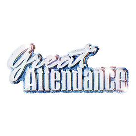 P-0179 Great Attendance Pin