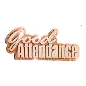P-0180 Good Attendance Pin