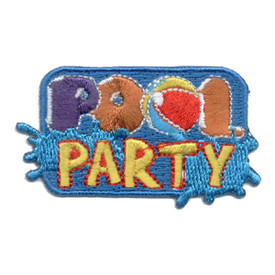 S-0611 Pool Party (Splash) Patch