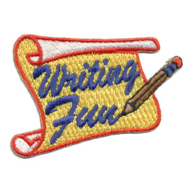 S-0613 Writing Fun Patch