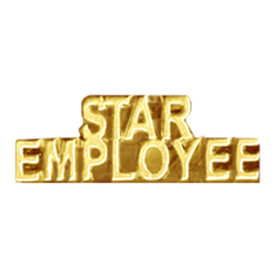 P-0193 Star Employee - Text Pin