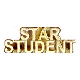 P-0194 Star Student - Text Pin