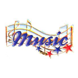 P-0204 Music Pin
