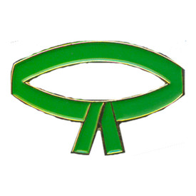 P-0210 Green Belt Pin