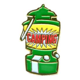 P-0218 Camping (Lantern) Pin