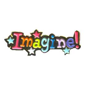 P-0223 Imagine! Pin