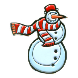 P-0228 Snow Man Pin