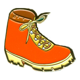 P-0232 Hiking Boot Pin