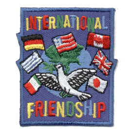 S-0618 International Friendship Patch