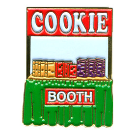 P-0249 Cookie Booth Pin