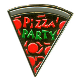 P-0251 Pizza Party Pin