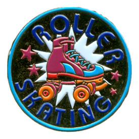 P-0252 Roller Skating Pin