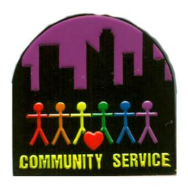 P-0255 Community Service Pin