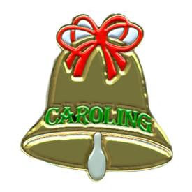 P-0256 Caroling Bell (Gold) Pin