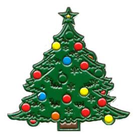 P-0257 Christmas Tree Pin