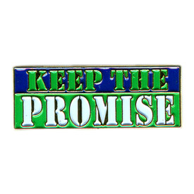 P-0260 Keep The Promise Pin