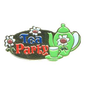 P-0261 Tea Party Pin