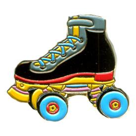 P-0262 Roller Skate (Black) Pin