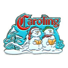 P-0263 Caroling Snow People Pin