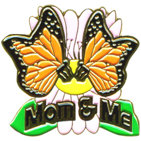 P-0277 Mom & Me (Butterfly) Pin