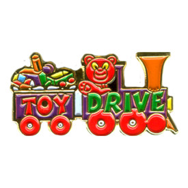 P-0278 Toy Drive (Train) Pin