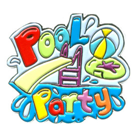 P-0279 Pool Party Pin